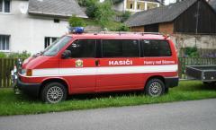 22.5.2009 -  slavnostní předání nového hasičského vozidla Volkswagen