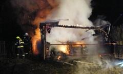 Zásah u požáru - 31.12.2014